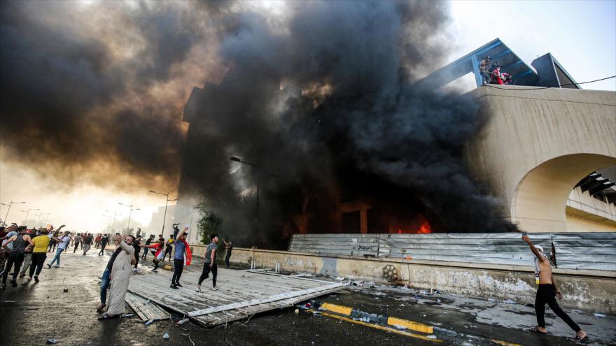 Irak abre investigación por actos violentos en protestas en el país | HISPANTV