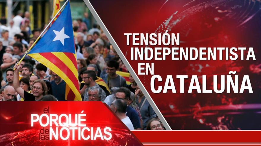 El Porqué de las Noticias: Irán y UEEA. Tensión sobre independentismo catalán. Perú ¿Con dos presidentes?