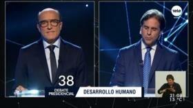 Candidatos presidenciales protagonizan gran debate en Uruguay