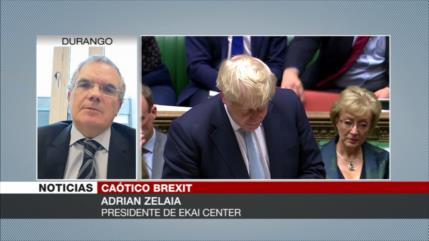 Zelaia: UE e Irlanda no aceptarán oferta de Johnson sobre Brexit