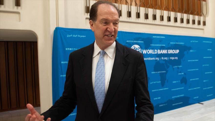 El presidente del Banco Mundial (BM), David Malpass, Washington DC, 9 de julio de 2019. (Foto: AFP)
