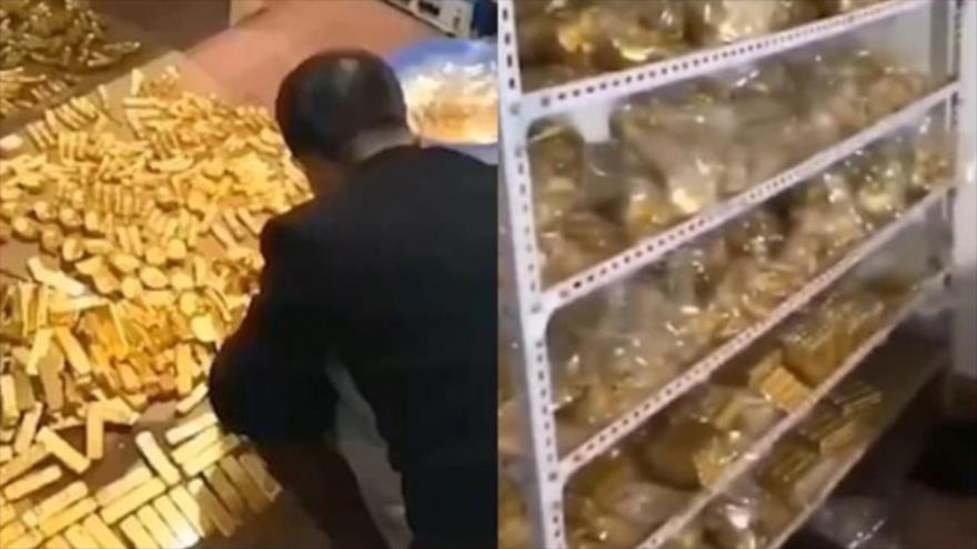 Alto mando chino es detenido con 13 toneladas de oro en su casa