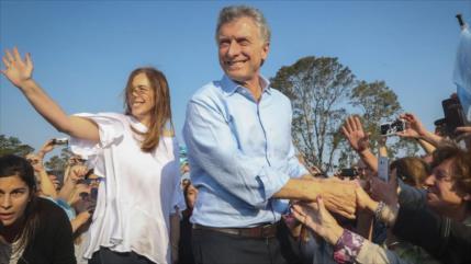 Macri promete resolver crisis económica si es reelecto en Argentina