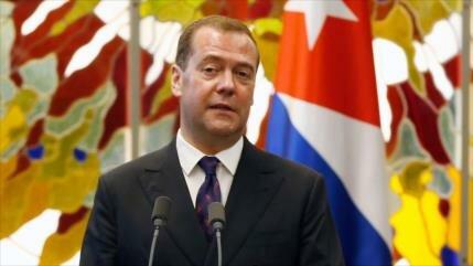 Medvedev a Díaz-Canel: Cuba siempre puede contar con Rusia