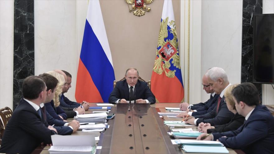 """Putin denuncia que """"algunos países"""" obstaculizan la paz en Siria   HISPANTV"""