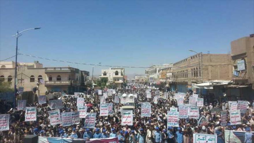 """Yemeníes agradecen a Ansarolá por la operación """"Victoria de Dios"""""""