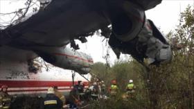 Aterrizaje forzoso de avión de carga en Ucrania deja 5 muertos