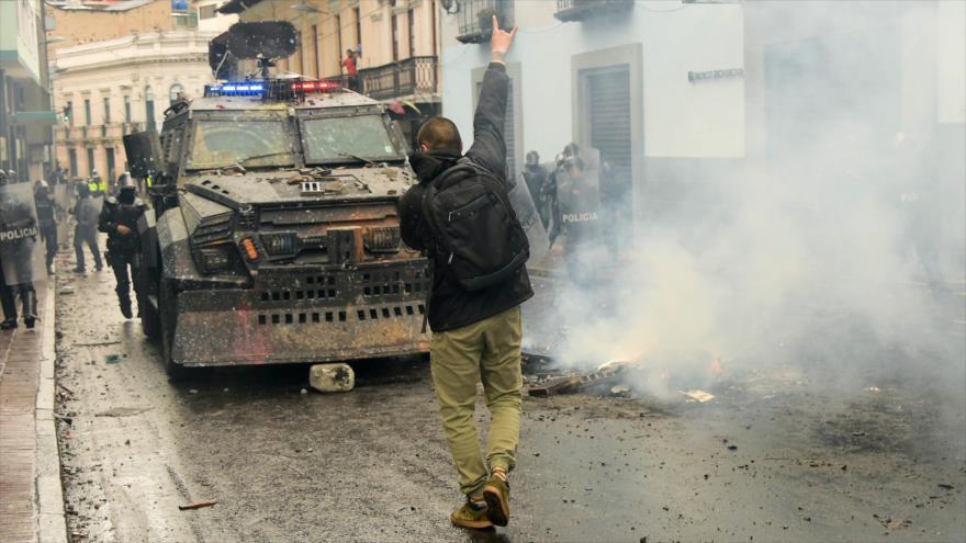 CIDH alerta sobre represión policial contra protestas en Ecuador | HISPANTV