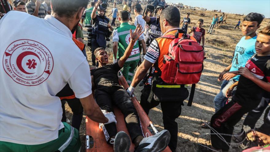 Disparos israelíes dejan un muerto y 14 heridos en Franja de Gaza   HISPANTV