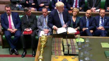 Johnson pedirá a la UE aplazamiento del Brexit si no hay acuerdo