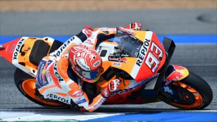Vídeo: Tremenda caída de motociclista español en el MotoGP