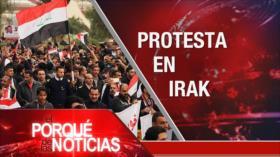 El Porqué de las Noticias: Protestas en Irak. Crisis en Ecuador. Guerra comercial Europa-EEUU