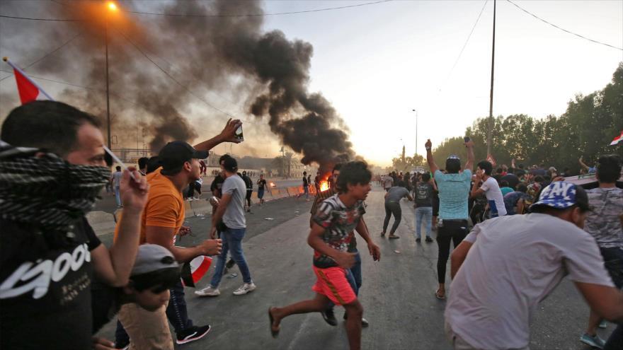Vídeo: ¿De dónde se alimentan las protestas en Irak? | HISPANTV