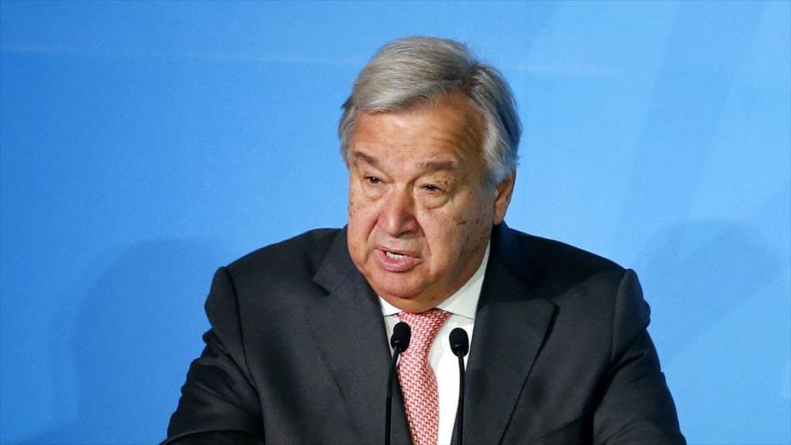 El secretario general de la Organización de las Naciones Unidas (ONU), António Guterres.