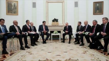 Moscú y Caracas estrechan sus lazos debido a las sanciones de EEUU