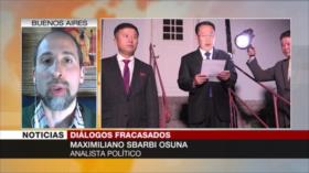 Osuna: La desconfianza colapsó diálogos Corea del Norte-EEUU