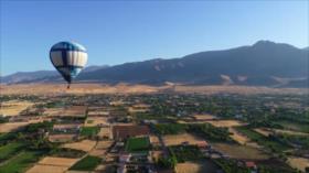 Irán: 1- Los balones aerostáticos 2- La ciudad de Sarab