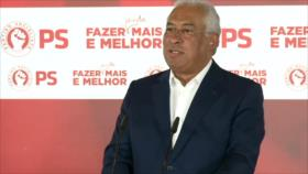 Partido Socialista de António Costa gana elecciones en Portugal