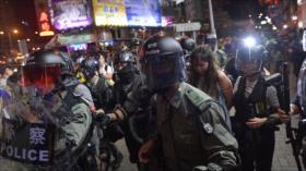 """China denuncia """"hipocresía"""" de la UE ante protestas de Hong Kong"""