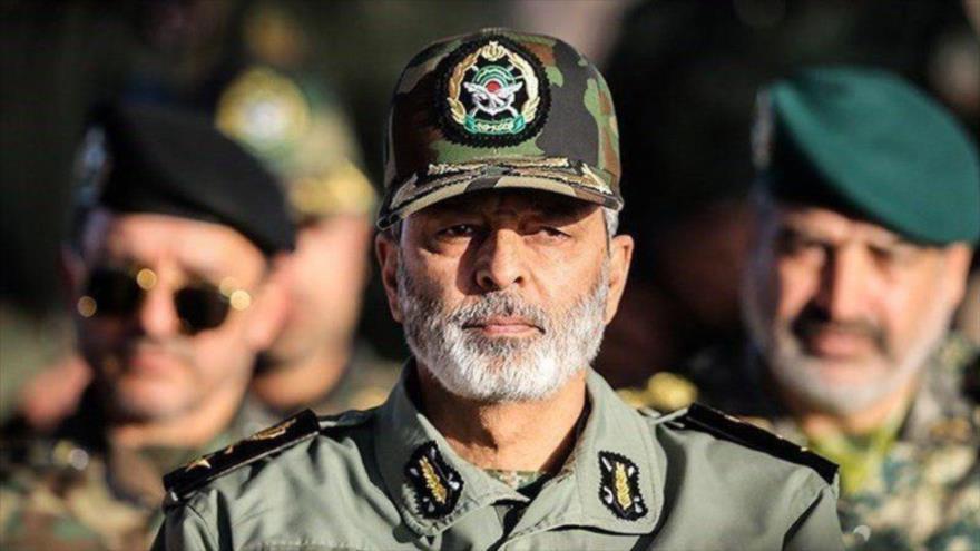 El comandante en jefe del Ejército iraní, el general de brigada Abdul Rahim Musavi.