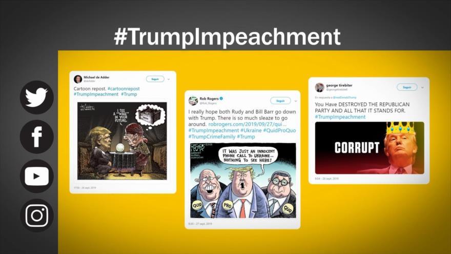 Etiquetaje: Trump ante un proceso de juicio político
