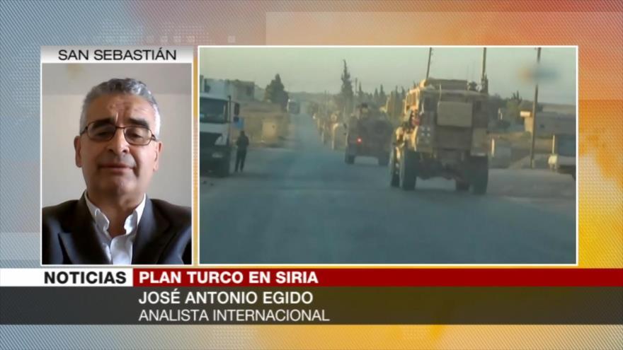 Egido: Operativo turco en Siria es provocación conjunta con EEUU