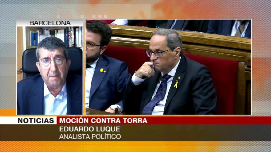 'Ni Ciudadanos ni Torra tienen medidas positivas para catalanes'