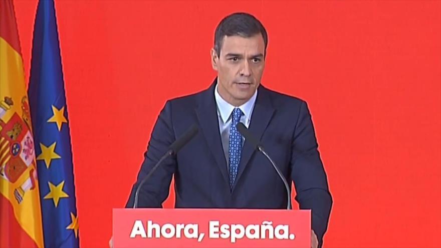 Sánchez se compromete a garantizar la seguridad en Cataluña | HISPANTV