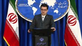 Irán condena resolución del Congreso de EEUU sobre Hong Kong