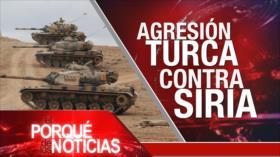 El Porqué de las Noticias: Turquía inicia ofensiva militar en Siria. Gobierno iraquí llama al diálogo. Disolución del Congreso en Perú