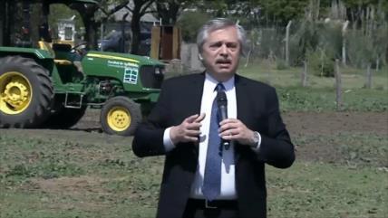Alberto Fernández inicia campaña contra el hambre en Argentina