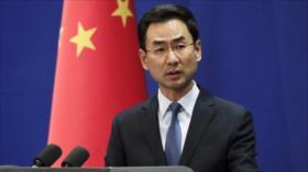 China tomará firmes medidas para protegerse ante sanciones de EEUU