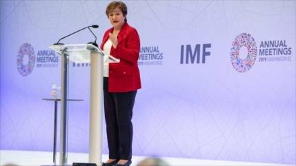 FMI calcula que 90 % de la economía mundial se está ralentizando