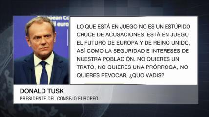 La UE acusa a Boris Johnson de jugar con el futuro de Europa