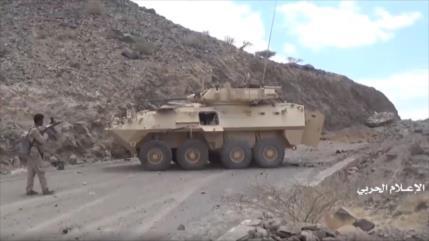 Vídeo: Un yemení captura coche blindado saudí con un Kalashnikov
