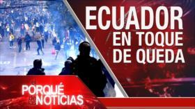 El Porqué de las Noticias: Turquía inicia operación en Siria. Protestas en Ecuador. FMI advierte de costes de la guerra comercial