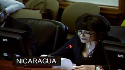 Nicaragua ratifica que defenderá su soberanía desde la OEA