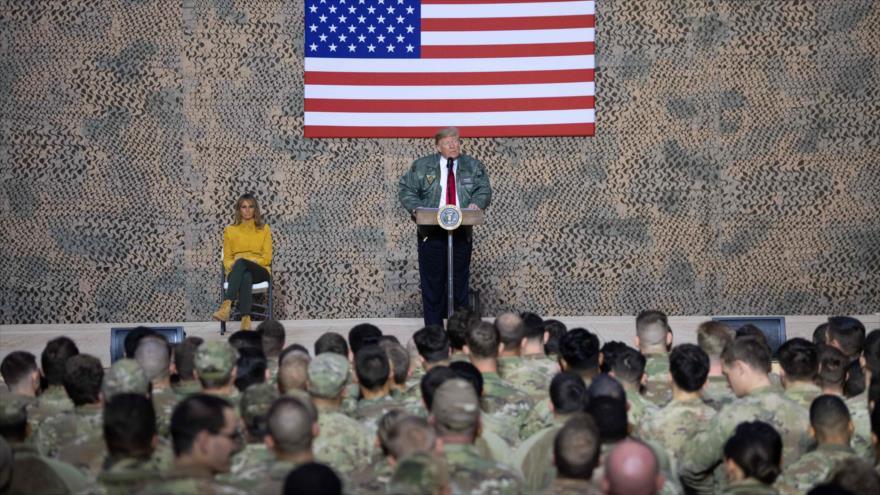 Trump: Tropas de EEUU nunca deberían haber estado en Oriente Medio
