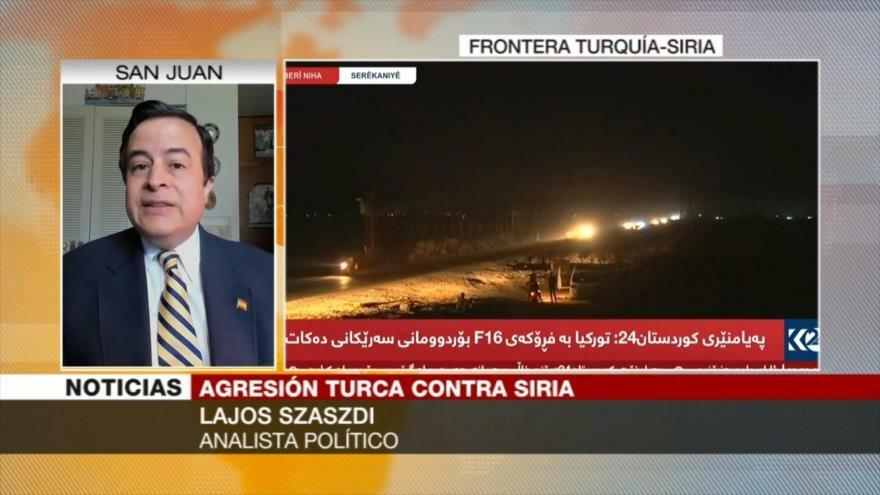 Szaszdi: Ankara busca ocupar zonas sirias fronterizas con Turquía