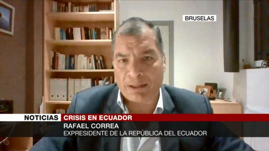 Correa: Moreno engaña al pueblo de Ecuador con sus paquetazos | HISPANTV