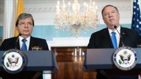Colombia y EEUU se reúnen para tratar crisis de su aliado Ecuador
