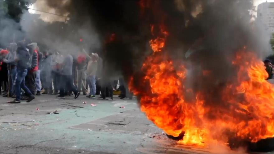 Miles de indígenas marchan en Ecuador contra Gobierno de Moreno | HISPANTV