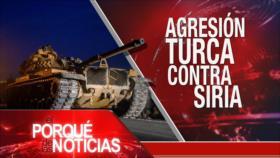 El Porqué de las Noticias: El Islam contra las armas nucleares. El mundo contra operación turca en Siria. Agudiza tensión social en Ecuador