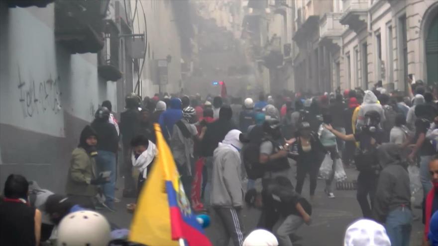 Paro en Ecuador mantiene en alerta a todo el mundo
