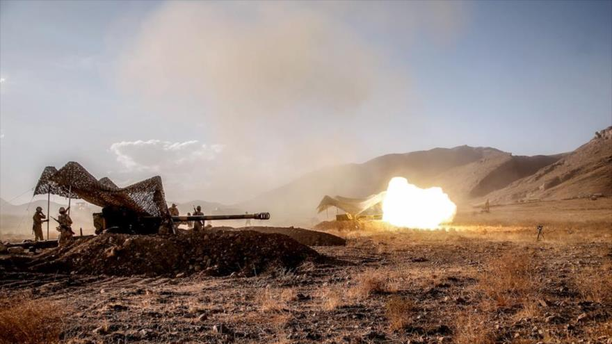 Ejército iraní realiza simulacros con artillería de alta precisión | HISPANTV