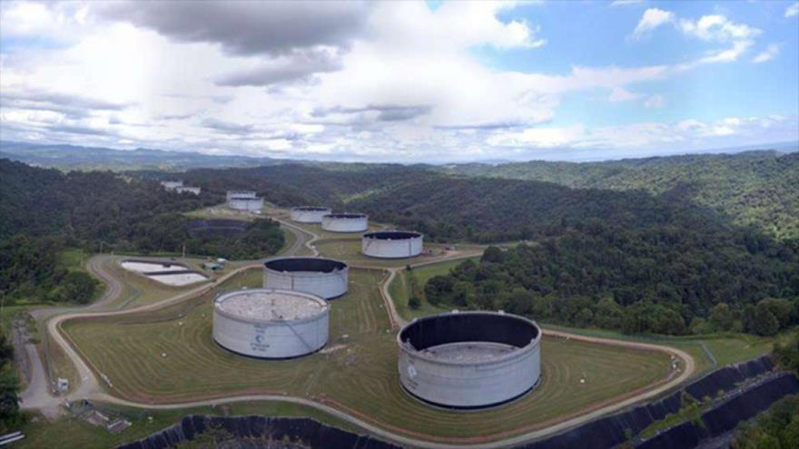 Instalaciones de la Empresa Pública de Hidrocarburos del Ecuador, conocida mejor por su nombre comercial EP Petroecuador.