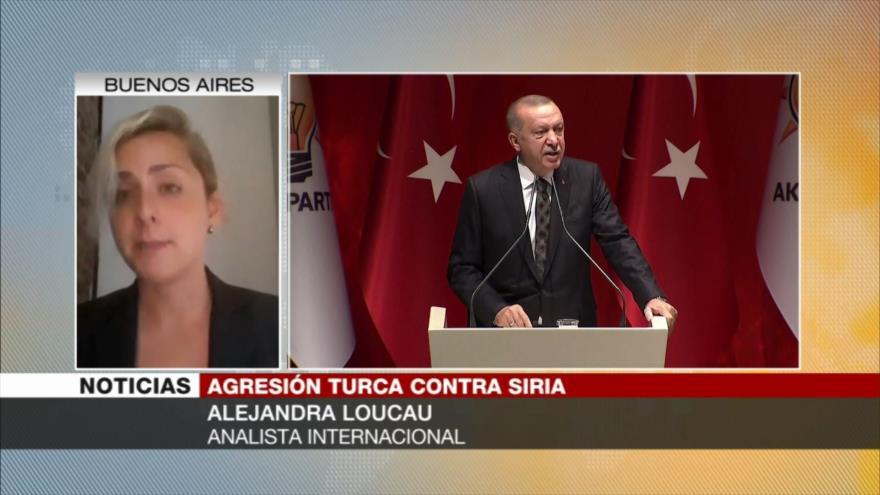 'Invasión turca a Siria es ocupación de un territorio soberano' | HISPANTV