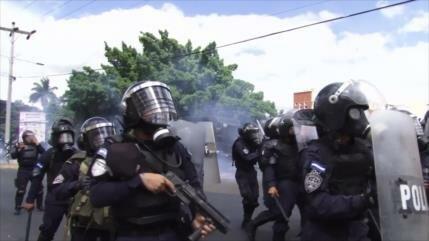 Fuerzas de seguridad en Honduras tienen mala gestión de protesta