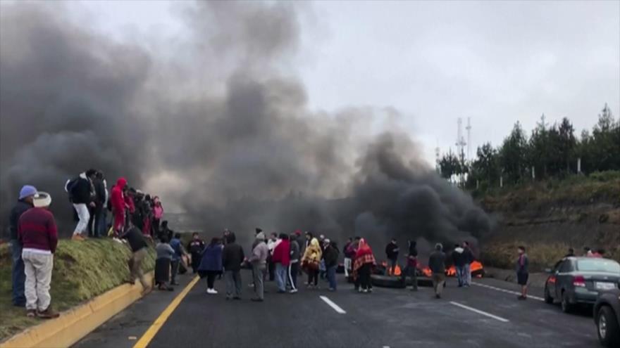 Siguen protestas contra Gobierno de Ecuador hasta renuncia de Moreno | HISPANTV