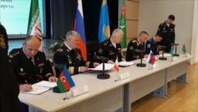 Irán y otros países de mar Caspio refuerzan cooperación militar
